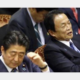 笑顔が絶えない麻生太郎副総理(C)日刊ゲンダイ
