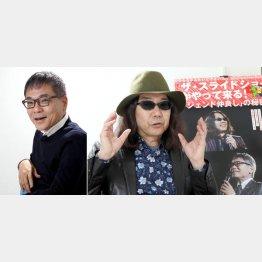 いとうせいこうさん(左)について語るみうらじゅんさん/(C)日刊ゲンダイ