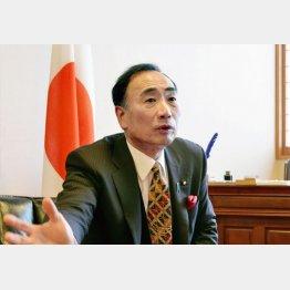 森友学園の籠池泰典理事長(C)共同通信社