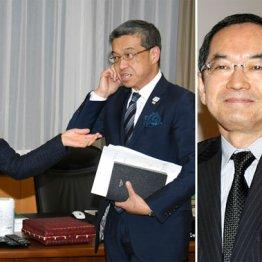 大西社長は辞任発表前日に丸川大臣と会談(右は石塚会長)
