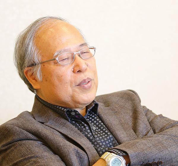 荒俣宏氏(C)日刊ゲンダイ