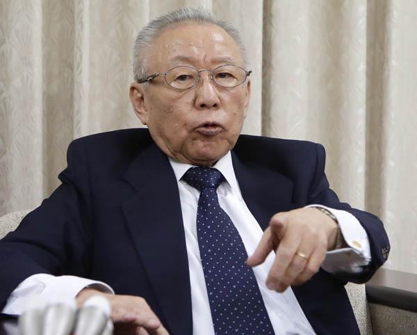 鴻池元防災担当相も日本会議のメンバー(C)日刊ゲンダイ