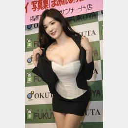 170センチでGカップ巨乳(C)日刊ゲンダイ