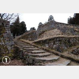 岩村城の「六段壁」(C)日刊ゲンダイ