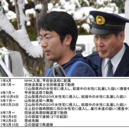 強姦致傷と住居侵入の罪で起訴されたNHK元記者の弦本康孝被告