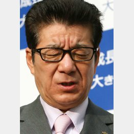 「僕を呼べばいい」と言っている(松井大阪府知事)/(C)日刊ゲンダイ