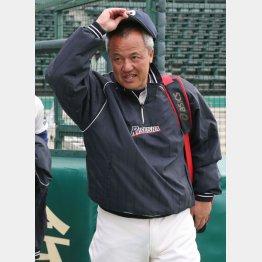 岡田監督は高校で初めて本格的に野球をやった(C)日刊ゲンダイ