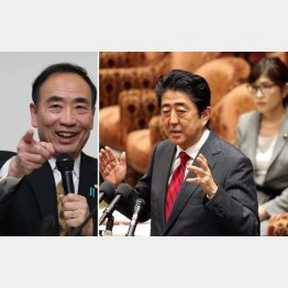 籠池理事長(左)の反撃開始(C)日刊ゲンダイ