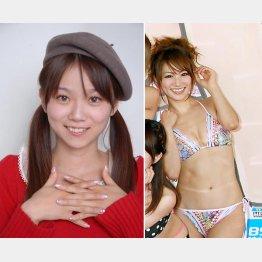 ほしのあすかさん(左)と香西咲さん(提供写真)