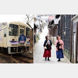 大正ロマンの街をぶらり(明知鉄道)/(C)日刊ゲンダイ