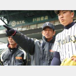 昨年4月に帝京第五の監督に就任(C)日刊ゲンダイ