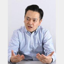 日報問題に火を付けた布施祐仁氏(C)日刊ゲンダイ