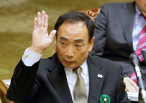 証言する籠池理事長(C)日刊ゲンダイ