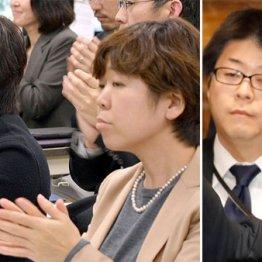 (左)昭恵氏の右が元秘書の谷査恵子氏(右)佐川局長の後方が嶋田課長補佐