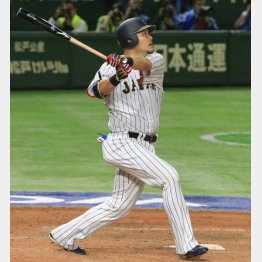 日本の4番は1次ラウンドでMVP(C)日刊ゲンダイ