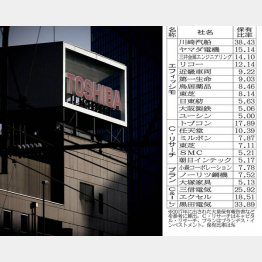 大株主は投資ファンドがズラリ(C)日刊ゲンダイ