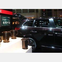 燃料電池の最たる応用先は電気自動車(C)日刊ゲンダイ