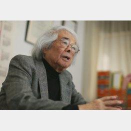 筑波大名誉教授の小澤俊夫氏(C)日刊ゲンダイ