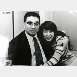 74年、五社英雄監督と雑誌の対談コーナーで(C)日刊ゲンダイ