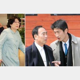 家族の結束は固い(C)日刊ゲンダイ