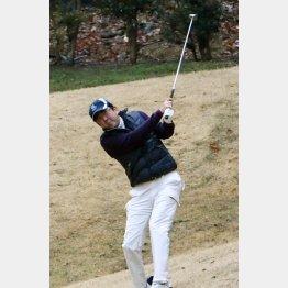 週末は趣味のゴルフ