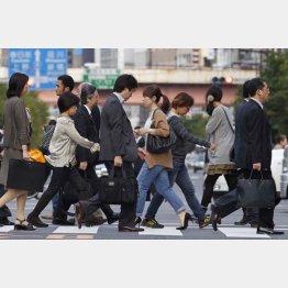 働き方の多様化で成長拡大(C)日刊ゲンダイ