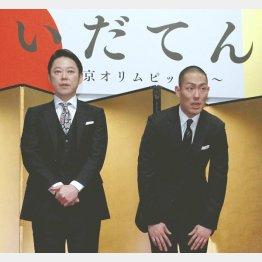 阿部サダヲ(左)と中村勘九郎(C)日刊ゲンダイ