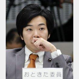 音喜多駿・都民ファーストの会幹事長(C)日刊ゲンダイ