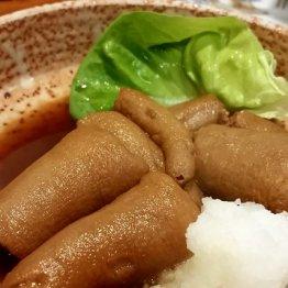 豚は捨てるとこなし 「沖縄料理でいご」の味わい深い尾の煮付け