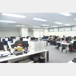 社員にも効率化が浸透(C)日刊ゲンダイ