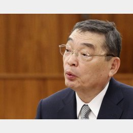 NHKの籾井前会長(C)日刊ゲンダイ