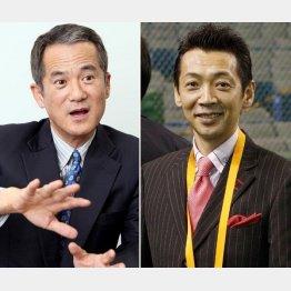 現在は番組の解説委員を務める春川正明氏(左)と宮根誠司(C)日刊ゲンダイ