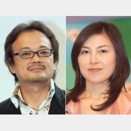 花見デートが報じられた源孝志氏(左)とNHK與芝由三栄アナ(C)日刊ゲンダイ