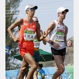 荒井広宙(左)はリオで銅メダルを獲得(C)共同通信社