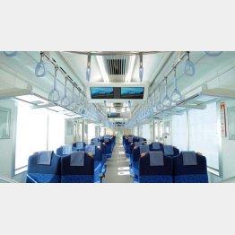 西武鉄道の着席列車「Sトレイン」(提供写真)