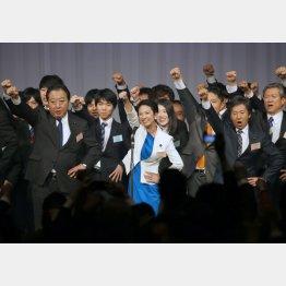 あり得ないA級戦犯の返り咲き(C)日刊ゲンダイ