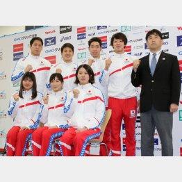 世界選手権の代表発表に背泳ぎの女子選手はいなかった(C)日刊ゲンダイ