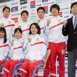 世界選手権の代表発表に背泳ぎの女子選手はいなかった