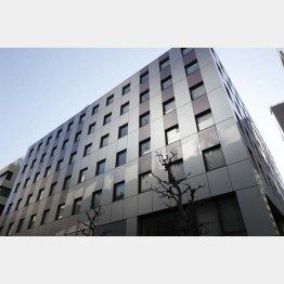 ジャパンディスプレイが入居するビル(C)日刊ゲンダイ