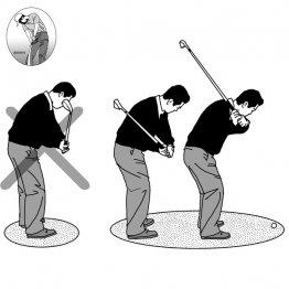島田幸作<17> 砂を薄く削り取るには低い位置から振り抜く