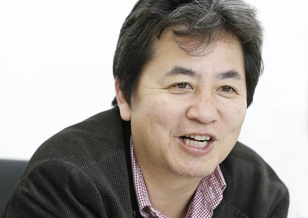 四万十ドラマの畦地履正社長(C)日刊ゲンダイ