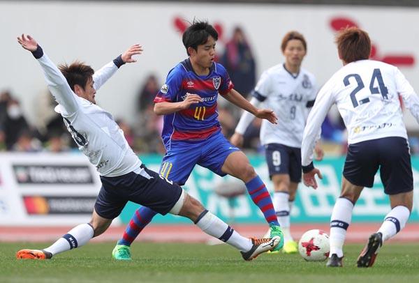 久保は5月3日のルヴァン杯でトップチームデビューか(C)Norio ROKUKAWA/Office La Strada