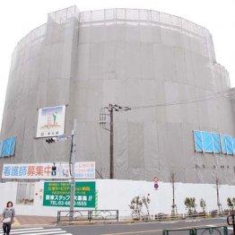 建設中の江東リハビリテーション病院