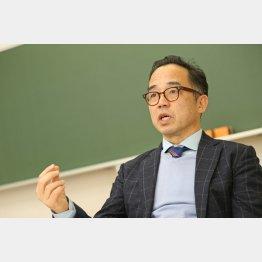 花まる学習会の高濱正伸代表(C)日刊ゲンダイ