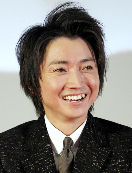 主演の藤原竜也(C)日刊ゲンダイ