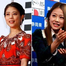 画像をのぞき見された高畑充希(左)とAKB48の島田晴香