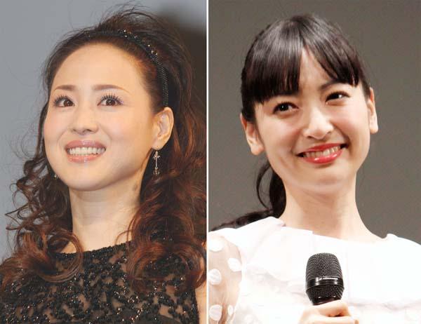 母の松田聖子(左)はいつまで沈黙?(C)日刊ゲンダイ