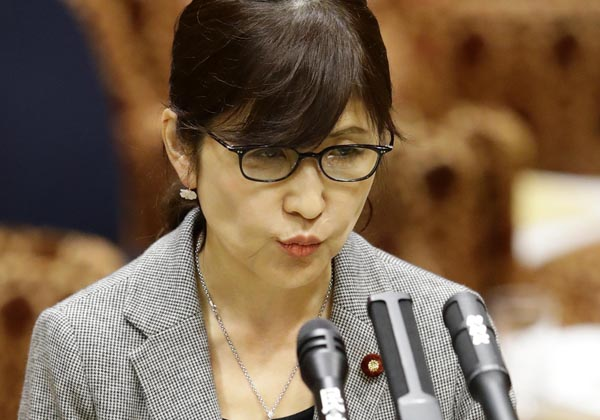 稲田大臣こそ「忘恩の徒」ではないか(C)日刊ゲンダイ
