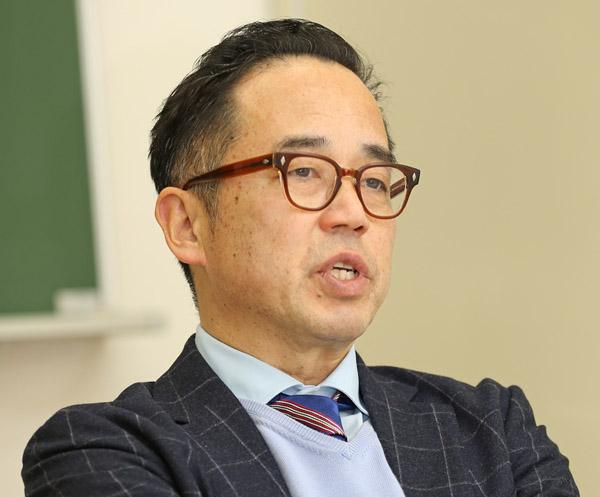 花まる学習会・高濱正伸代表(C)日刊ゲンダイ
