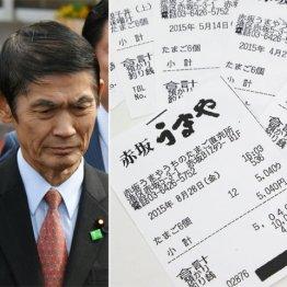 """今村前復興相 政治資金で高級たまご""""爆買い""""のデタラメ"""